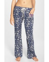 Lucky Brand - 'boho' Print Lounge Pants - Lyst