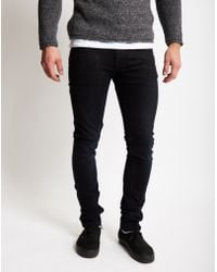 Nudie Jeans | Tight Long John Black Heat Jeans | Lyst