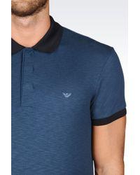 Emporio Armani   Short-sleeved Polo Shirt   Lyst