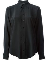 Ralph Lauren Black Classic Shirt - Lyst