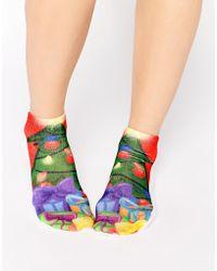Living Royal - Christmas Tree Socks - Lyst