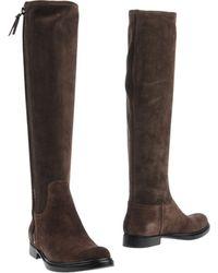 Miu Miu Brown Boots - Lyst