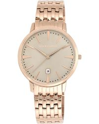 Vince Camuto Mens Rose Gold-tone Stainless Steel Bracelet Watch 40mm Vc - Lyst