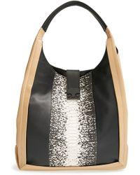 Loeffler Randall 'Bodega' Leather Shoulder Bag - Lyst