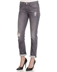 Hudson Skylar Relaxed Slim-Fit Straight High-Waisted Jeans - Lyst