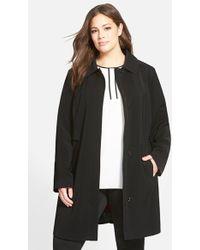 Gallery - 'napage' A-line Coat With Removable Liner - Lyst