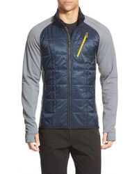 Smartwool - 'corbet 120' Water Resistant Mixed Media Jacket - Lyst