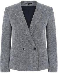 Theory Tamala K Tweed Jacket - Lyst