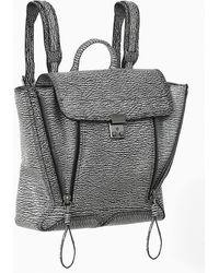 3.1 Phillip Lim Black  Cream Pashli Backpack - Lyst