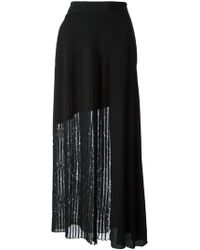 Damir Doma Long Pleated Skirt - Lyst