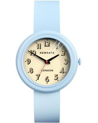Newgate Watches - Unisex Corgi Stainless Steel Silicone Strap Watch - Lyst