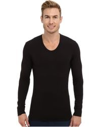 Calvin Klein Ck Thermal Ls U-neck - Lyst