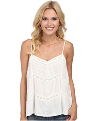 Volcom Straight Laced Cami Top - Lyst