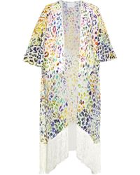 Athena Procopiou - Dancing In Rio Silk Cover-up - Lyst