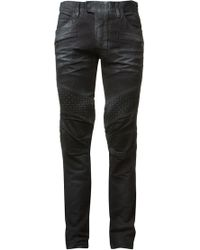 Balmain Washed Jean - Lyst