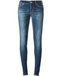 Dondup Tara Skinny Jeans - Lyst