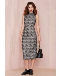 Nasty Gal Joa New Lace On Life Dress - Lyst