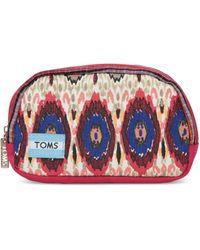 TOMS - Multi Stripe Mix Lagoon Cosmetic - Lyst
