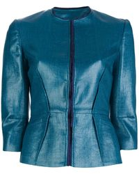 Pierre Balmain Structured Fitted Jacket - Lyst