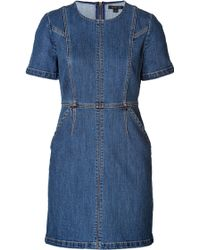 Rachel Zoe Denim Callie Dress - Lyst