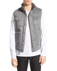 Kane & Unke - Quilted Vest - Lyst