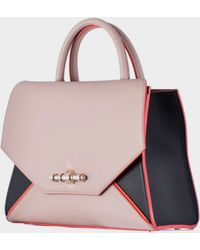 Givenchy Tricolor Leather Small Obsedia Bag - Lyst