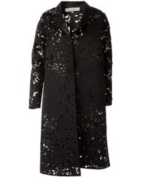 Anrealage Laser Cut Overcoat - Lyst