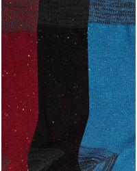 Bellfield - 3 Pack Socks - Lyst