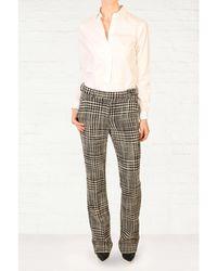 Zoe Jordan Gaudi Dogtooth Trousers - Lyst