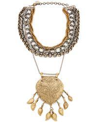 Laura Cantu - Turkish Pendant Necklace - Lyst