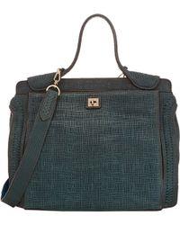 Zagliani - Cuma Medium Shoulder Bag - Lyst
