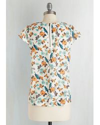 Sunny Girl Pty Lltd - Steal The Show Top In Parakeets - Lyst