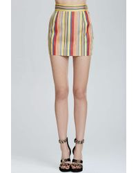 Nasty Gal Vintage Moschino Verona Striped Skirt - Lyst