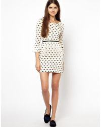 Sonia By Sonia Rykiel Exclusive To Asos Dress in Lips Print - Lyst