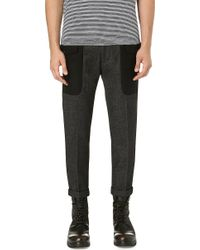 DSquared2 Flap Pocket Trousers Grey - Lyst