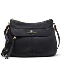 Vince Camuto Dean Leather Crossbody Bag - Lyst