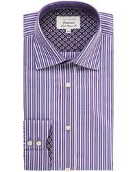 Ted Baker Walcot Regular Fit Stripe Shirt - Lyst