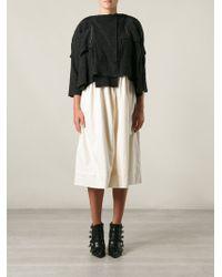 Comme Des Garçons Sweater Top Dress - Lyst