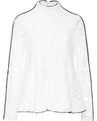 Houghton - Maddie Guipure Lace Top - Lyst