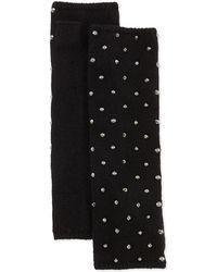 Portolano Studded Knit Arm Warmers - Lyst