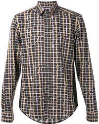 Kenzo Multicolor Print Shirt - Lyst