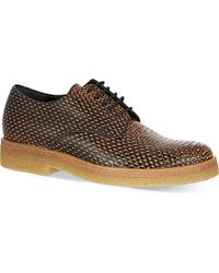Dries Van Noten Lace-Up Leather Oxford Shoes - For Women - Lyst