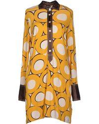 Coast Short Dress multicolor - Lyst