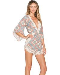Wilde Heart - Dream On Romper - Lyst