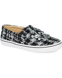 Kate Spade Slater Tweed Sneakers - Lyst