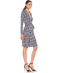 Diane Von Furstenberg New Jeanna Two Silk Dress - Lyst
