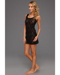 Hanky Panky Signature Lace Unlined Chemise - Lyst