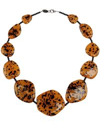 First People First Necklace - Lyst