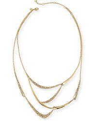 Alexis Bittar Miss Havisham Crystal Bib Necklace - Lyst