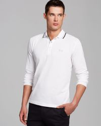 Hugo Boss Boss Green Plisy Regular Fit Polo - Lyst